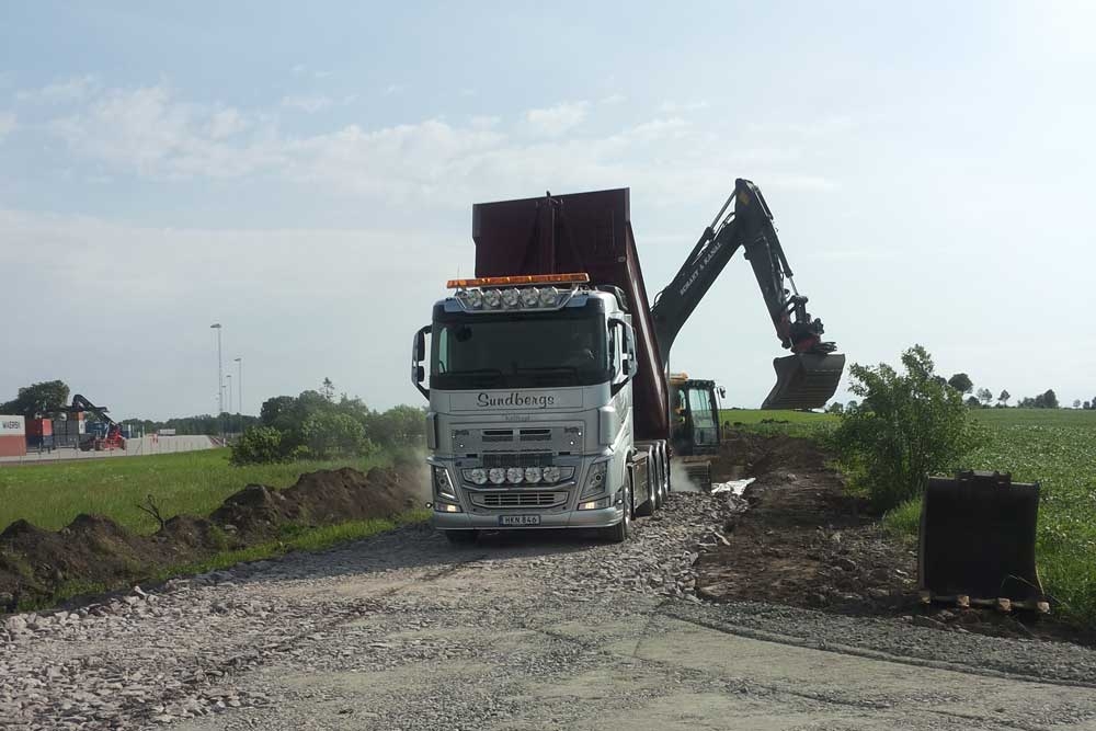 anläggningstransporter sundbergs åkeri